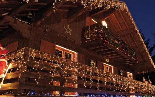 Vánoční osvětlení nejen na stromeček