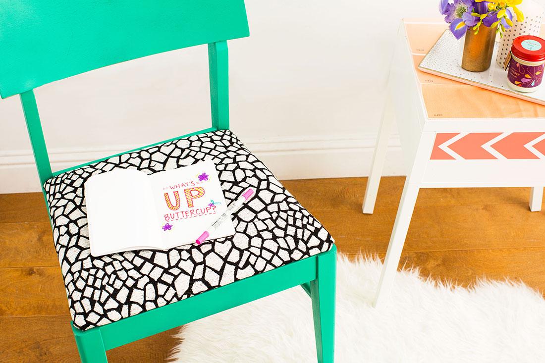 Jak na novou židli