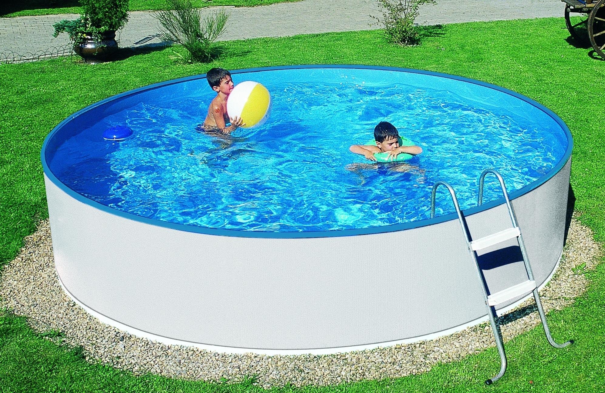 Chcete dostatečně velký a kvalitní bazén bez nutnosti zasahovat do zahrady? Zvolte nadzemní bazén