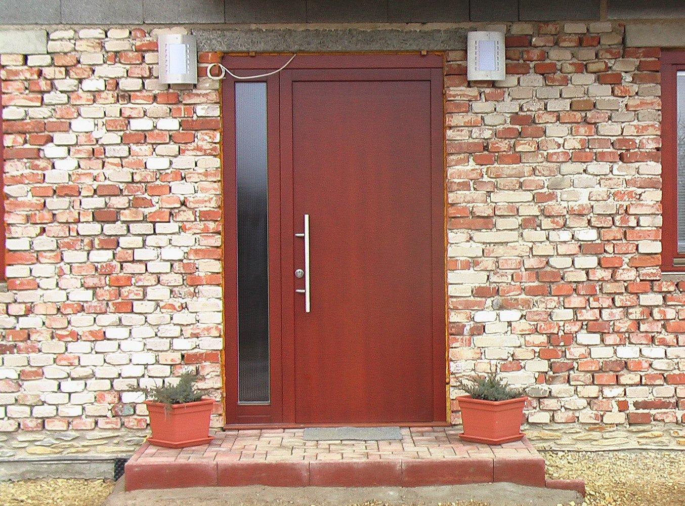 Dveře jako lusk: kromě praktičnosti i otázka dobrého vkusu