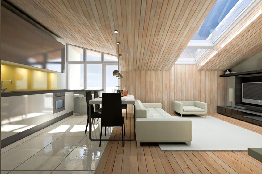 Aj v modernom bývaní nezabúdajte na dominantné postavenie dreva
