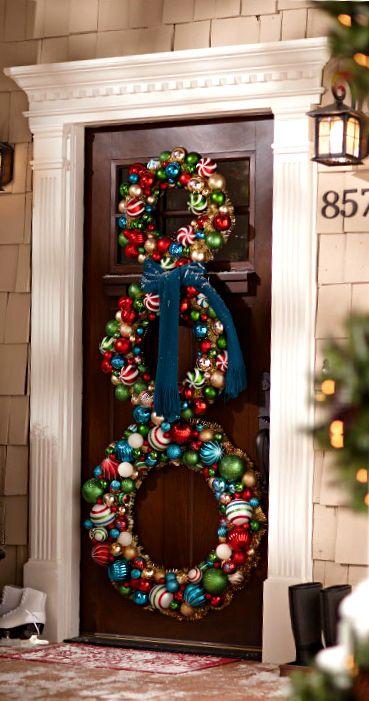 Vyzdobte si vchod do vašeho domu ve vánočním duchu