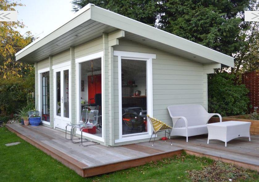 Bytelný a vkusný zahradní domek pro užitek i potěšení