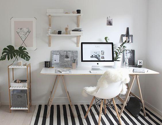 Home office: Přehled prací na doma + tipy jak zařídit pracovnu