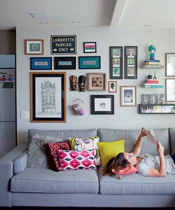 6 tipů, jak originálně zaplnit prázdné stěny