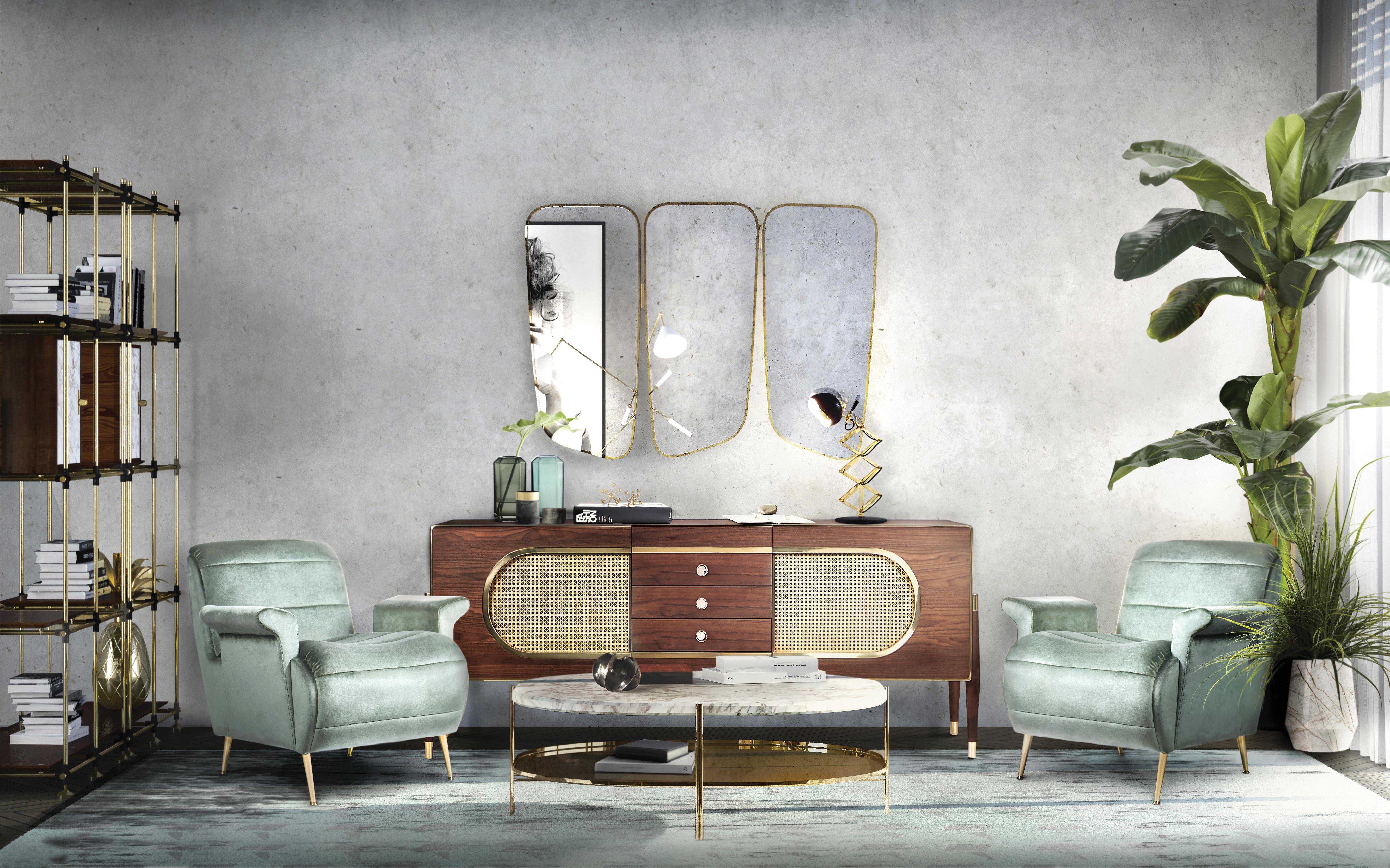 Zrcadla jako výzdoba interiéru