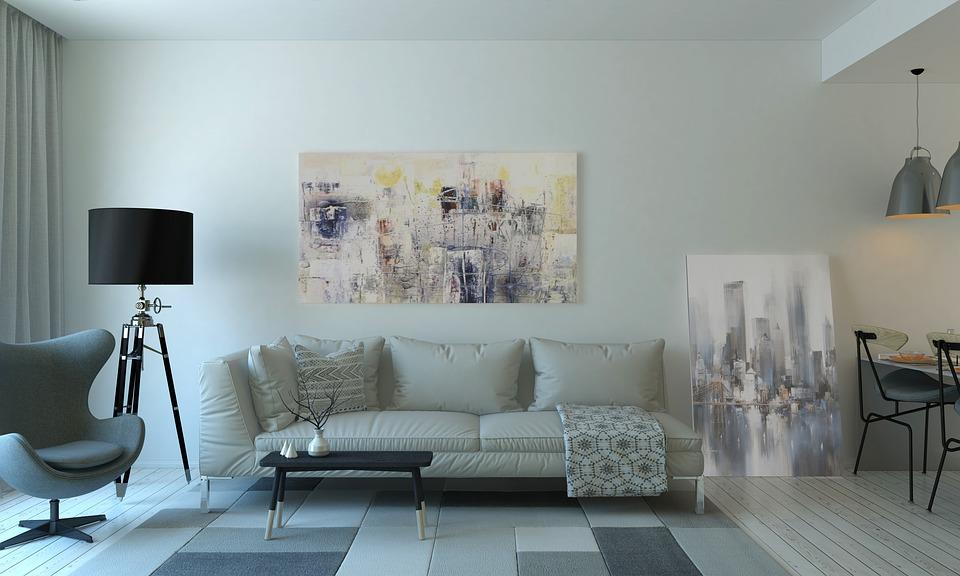 Top 7 šedivých nápadů pro obývací pokoj