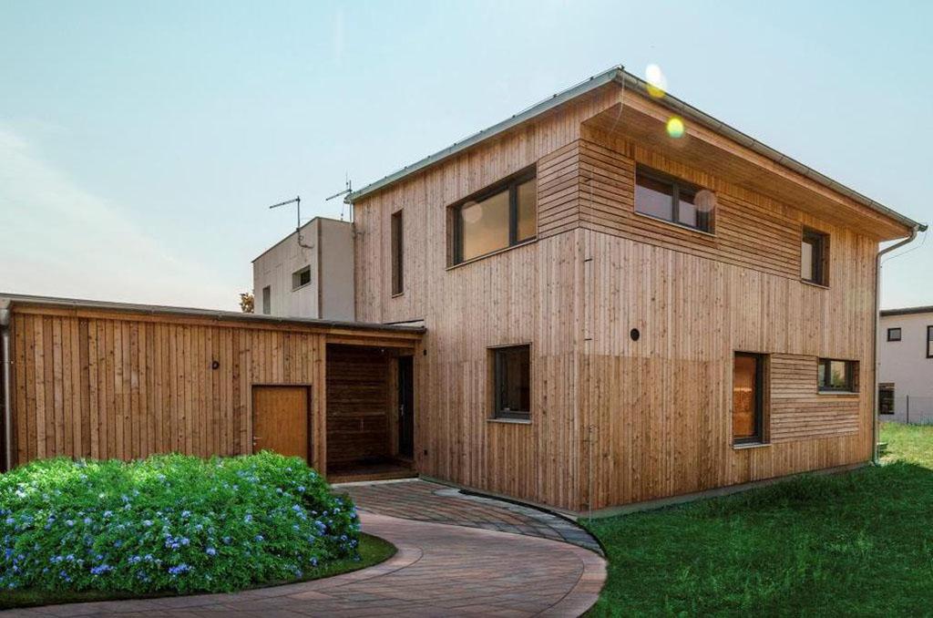 Rodinná dřevostavba – komfortní bydlení jako mávnutím kouzelného proutku