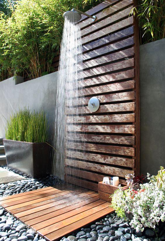4 tipy na zahradní sprchu