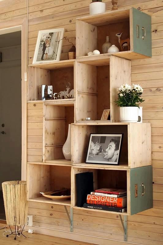 Nábytek z nevyužitých věcí, aneb zkrášlete si váš interiér
