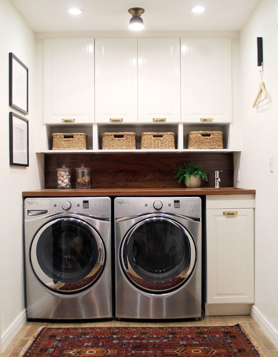 Jak proměnit nevzhlednou prádelnu na luxusní pokoj