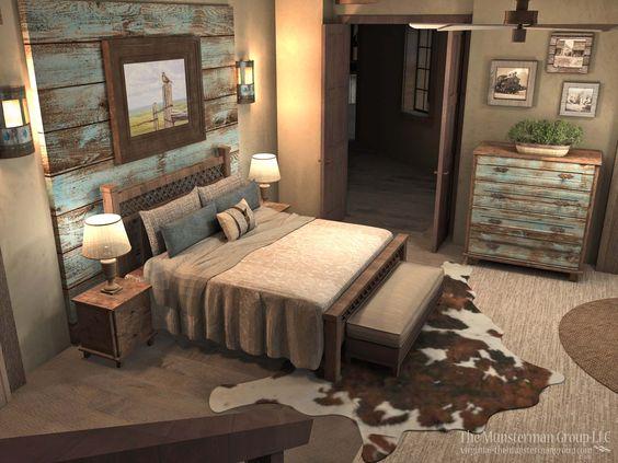 Jak zařídit ložnici v rustikálním stylu