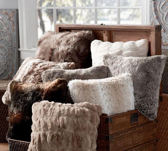 Kožešiny dodají vašemu domovu kouzlo a styl