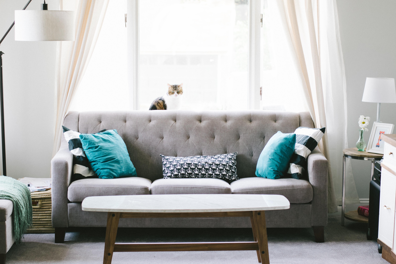 Obývací pokoj ve třech stylech