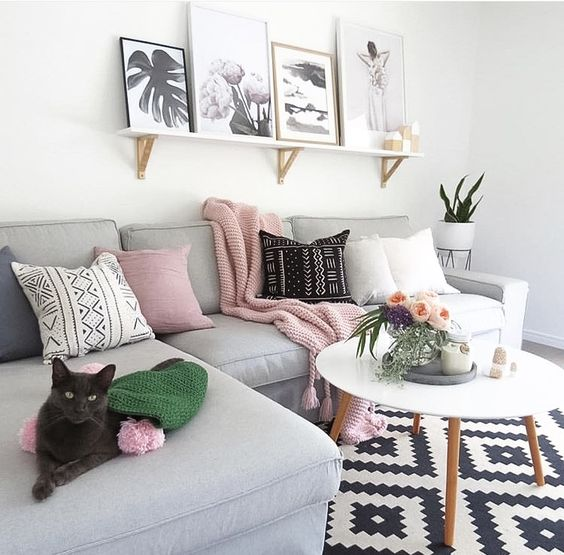 Jak proměnit obývací pokoj za pár korun