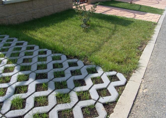 Zatravňovací dlažba: Elegantní a efektivní řešení zpevněné plochy