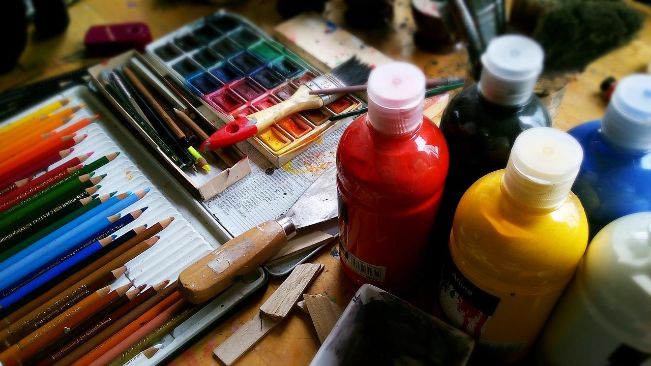 Malování podle čísel jako dekorace do bytu i zábava