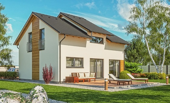 Hledáte dostupné bydlení pro celou rodinu? Řešení nabídne prostorná dřevostavba na klíč