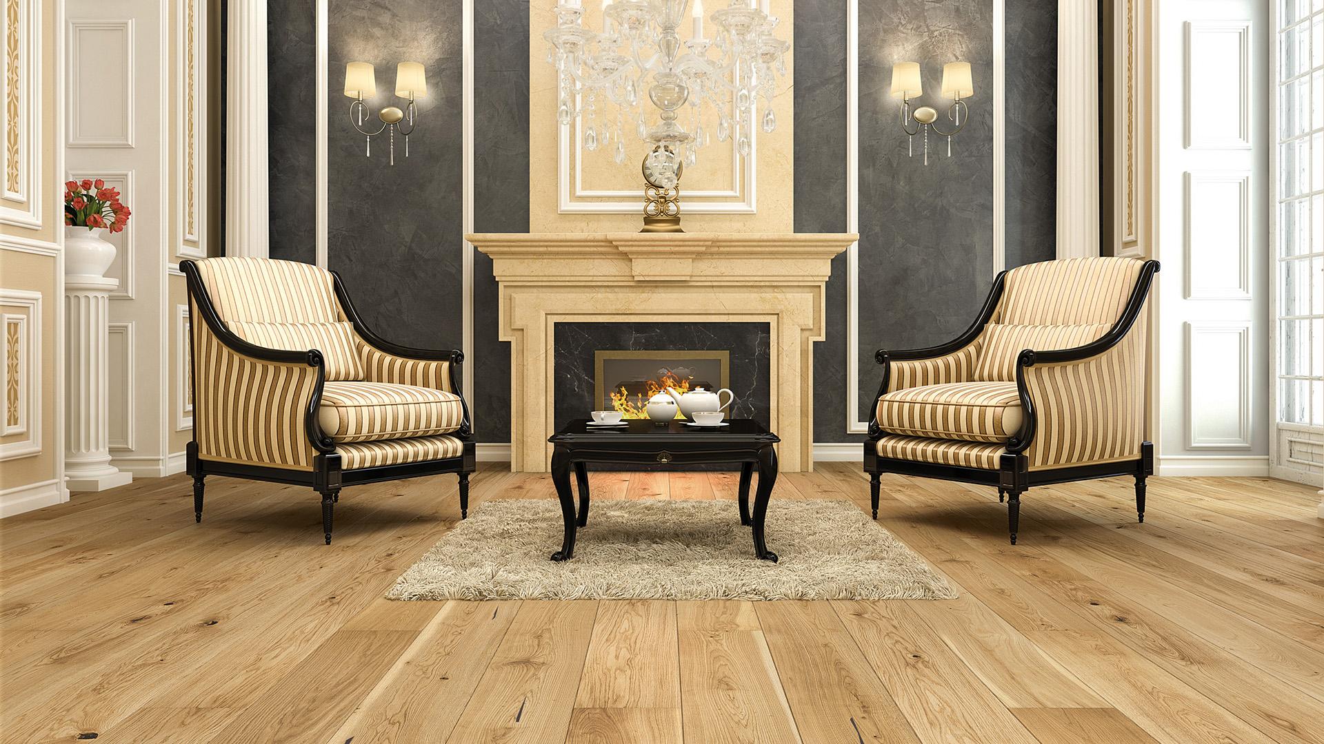 Chcete opravdový luxus? Zvolte dřevěné podlahy