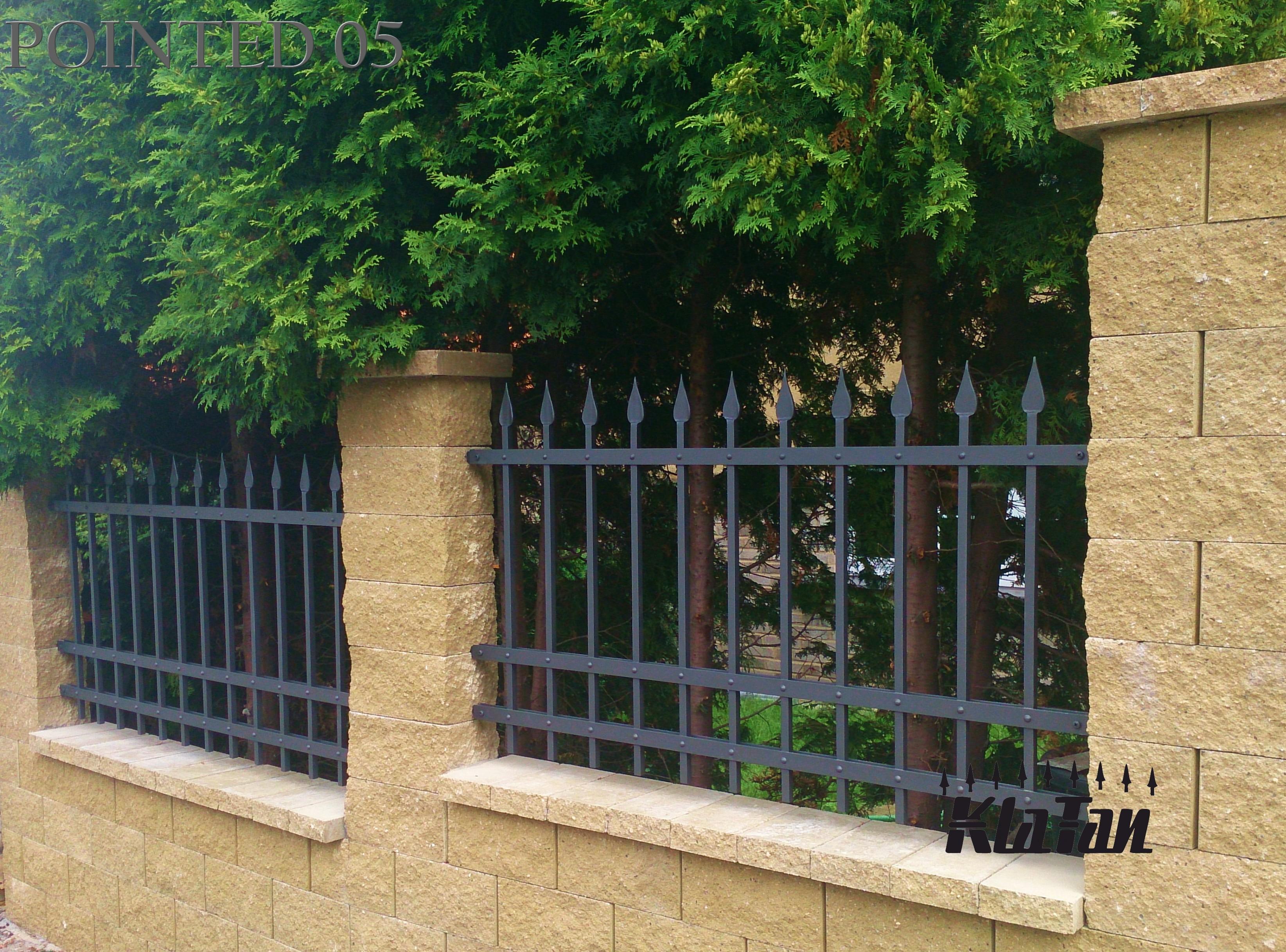 Jak a podle čeho vybírat kované ploty
