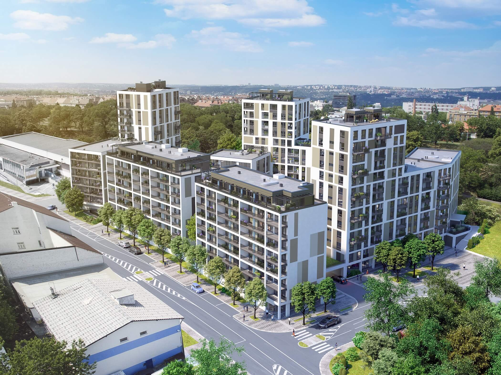 Nové byty na Vackově slibují komfortní bydlení na Žižkově