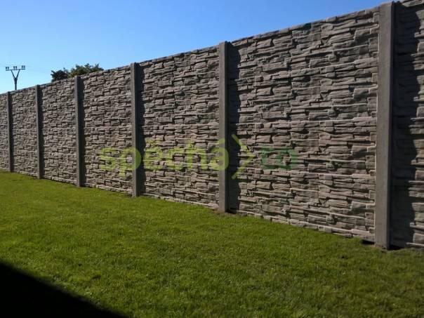 Betonové ploty si nacházejí stále více příznivců