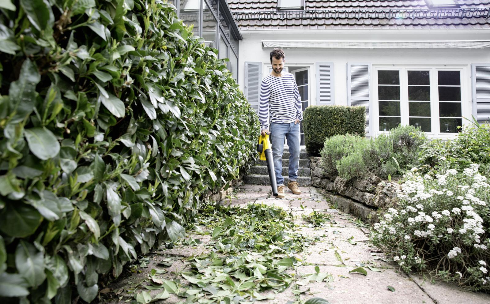 Když padá listí, vezměte úklid zahrady pevně do ruky!