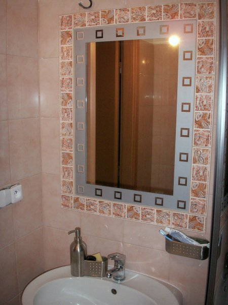 zabudované zrcadlo