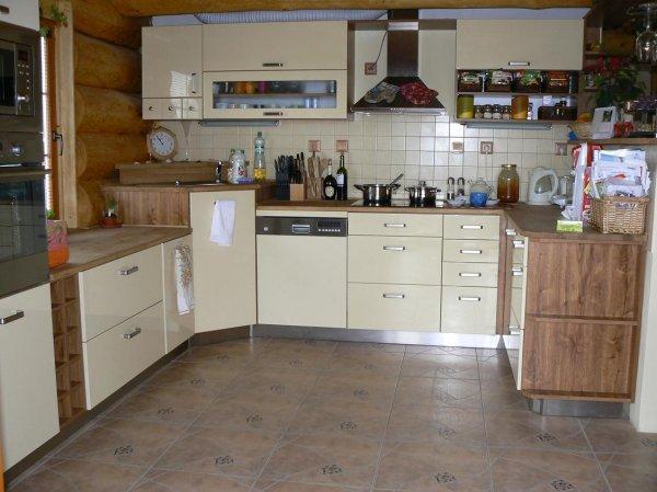 Kuchyně ve srubu