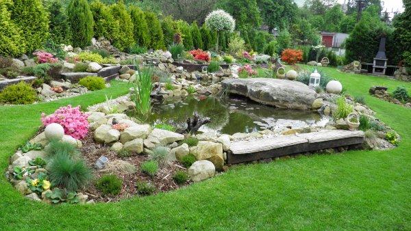 zahrada květen 2010