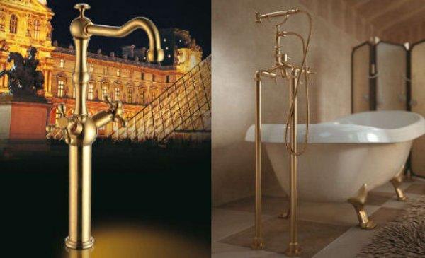Sprchy, zlaté baterie