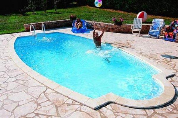 Bazén na terase