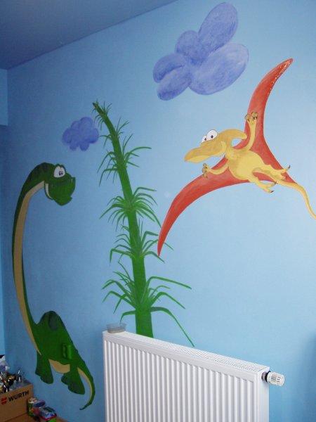 malba na zeď