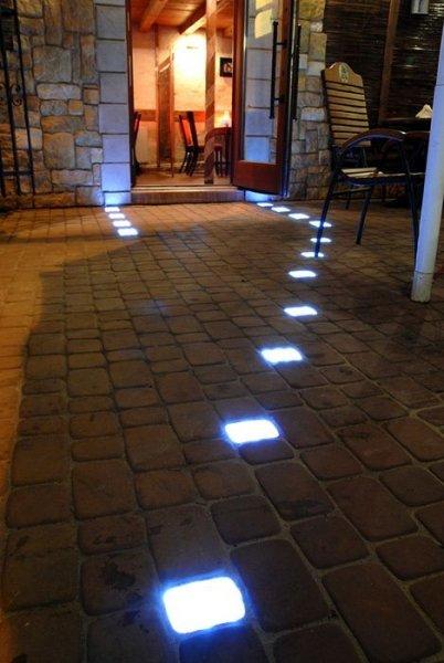 LED dlažba