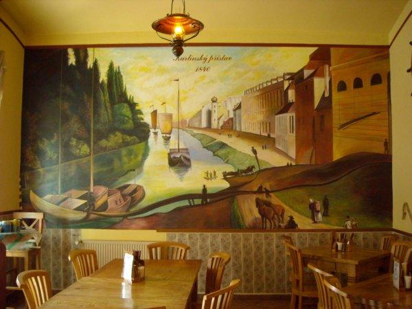 Nástěnná malba M. Novák