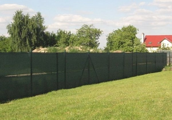 Stínící sítě na plot
