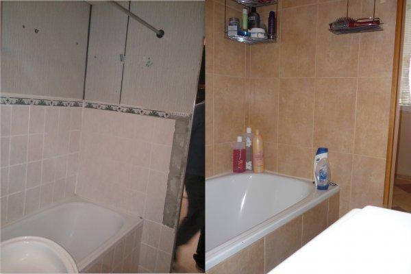 Paneláková koupelna