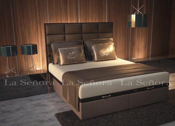 Elegantná posteľ