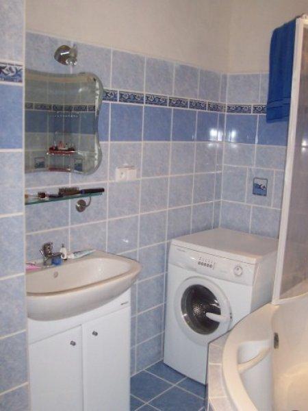 Koupelna s pračkou
