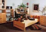Postel ložnice - dětský pokoj - nábytek