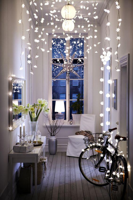 vánoční solární světla