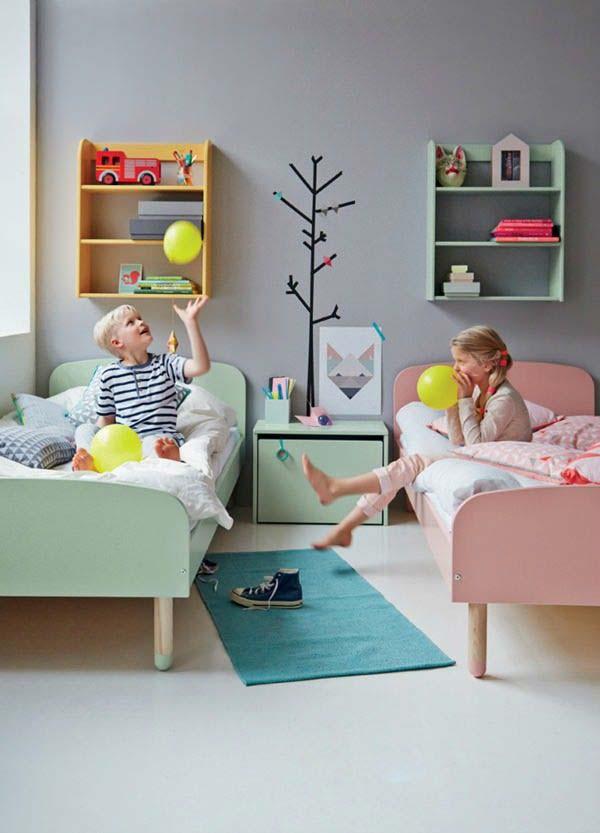 pokoj pro dvě děti