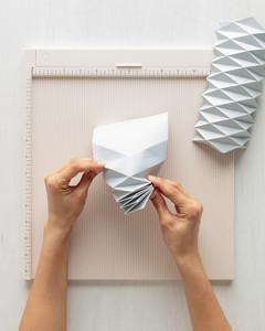origami obal na květináč