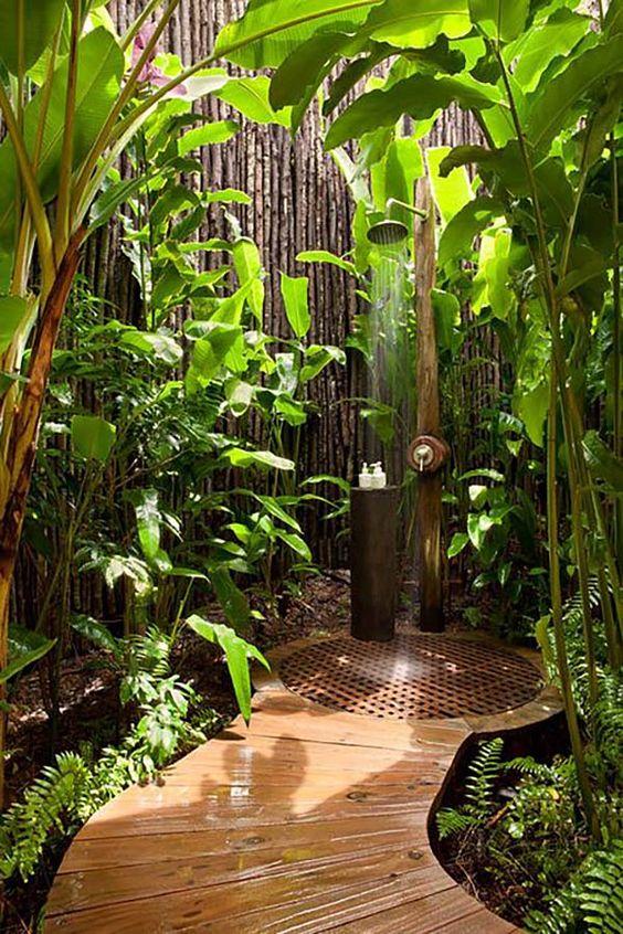 zahradní sprcha