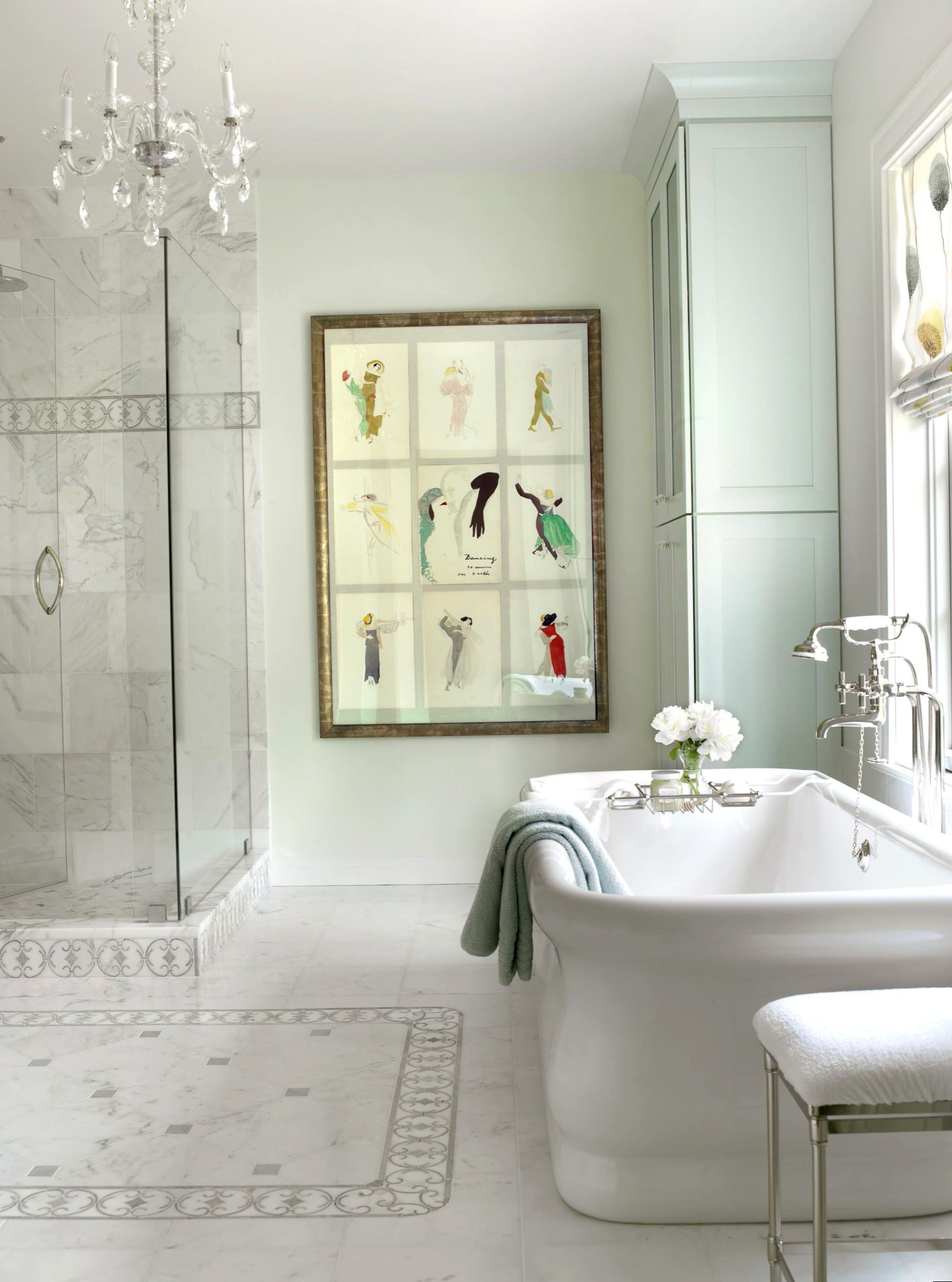 koupelna ve francouzském stylu