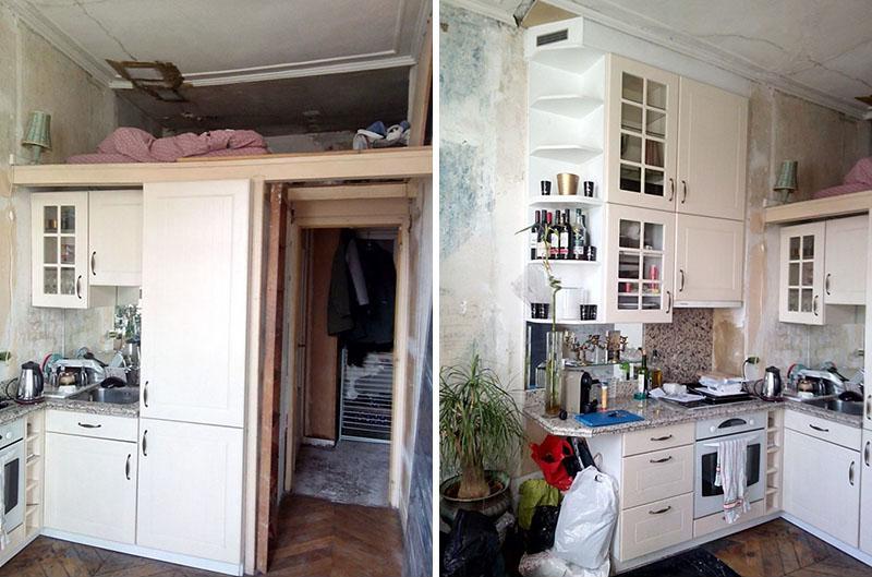 malé byty, chytré řešení