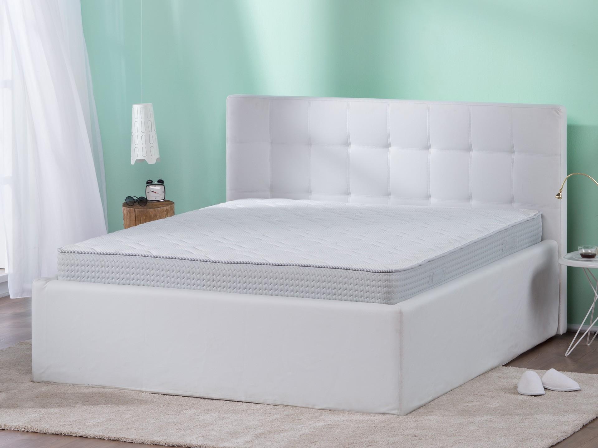 Matrace Dormeo Fresh Prima - obrázek umístění v posteli