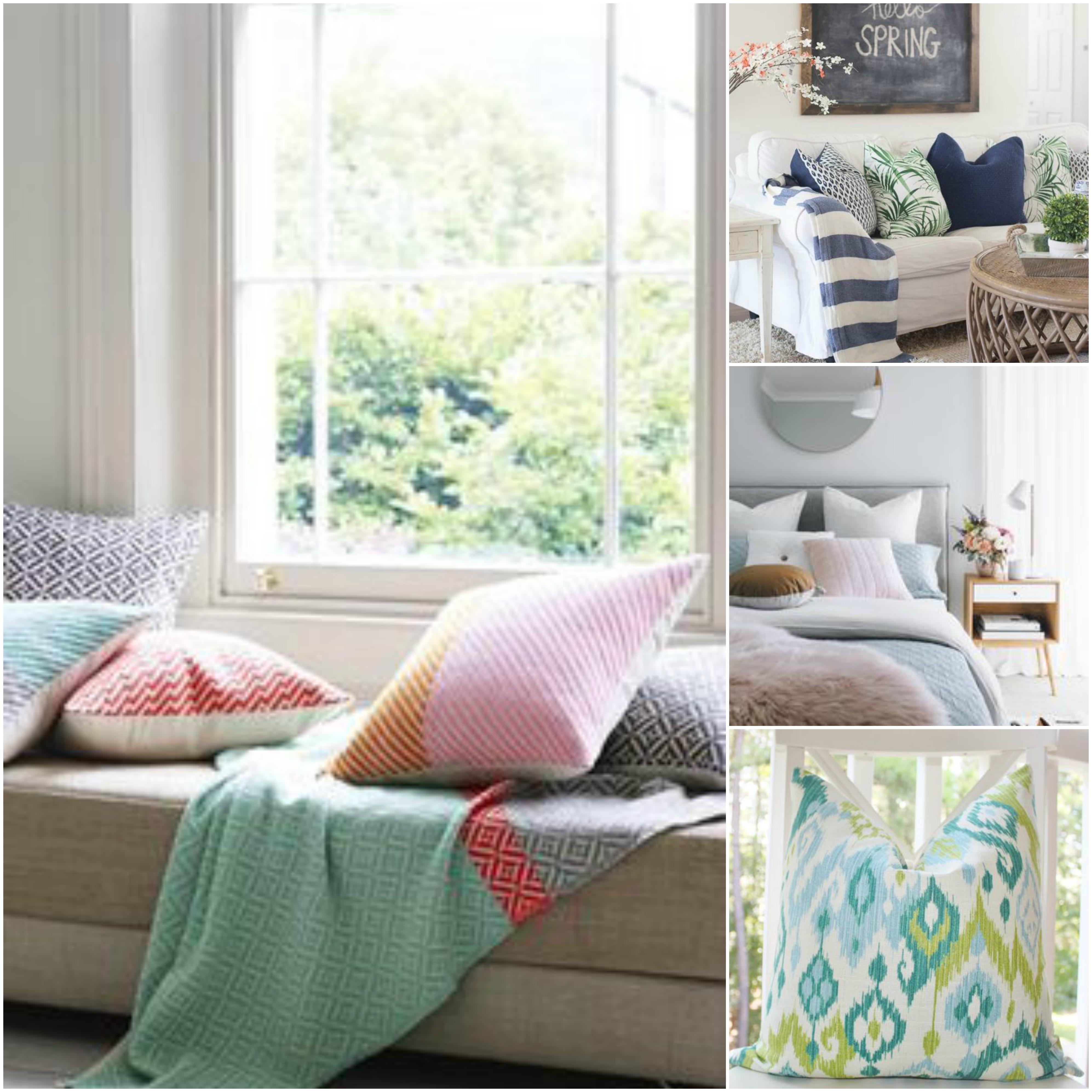 oblečte interiér do jarních barev