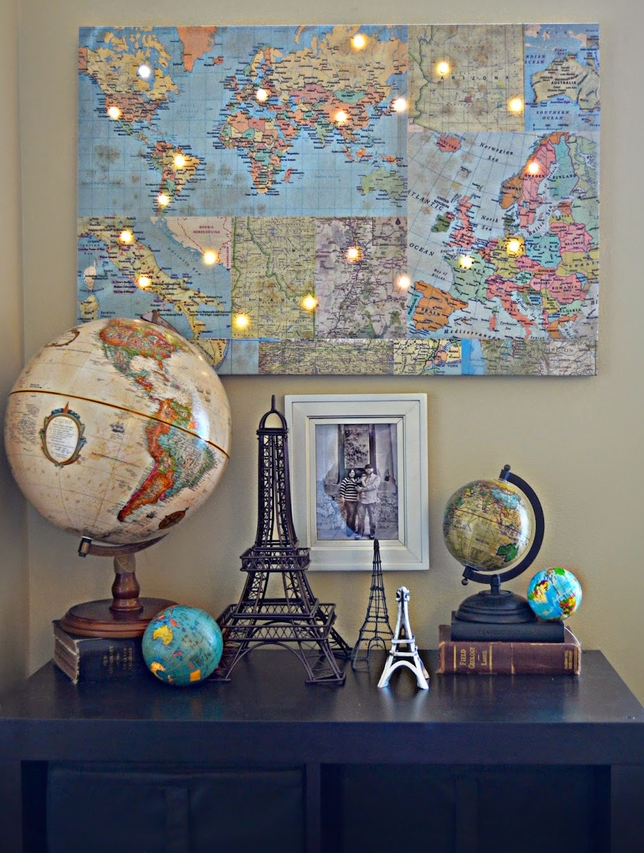 dekorace pro cestovatele