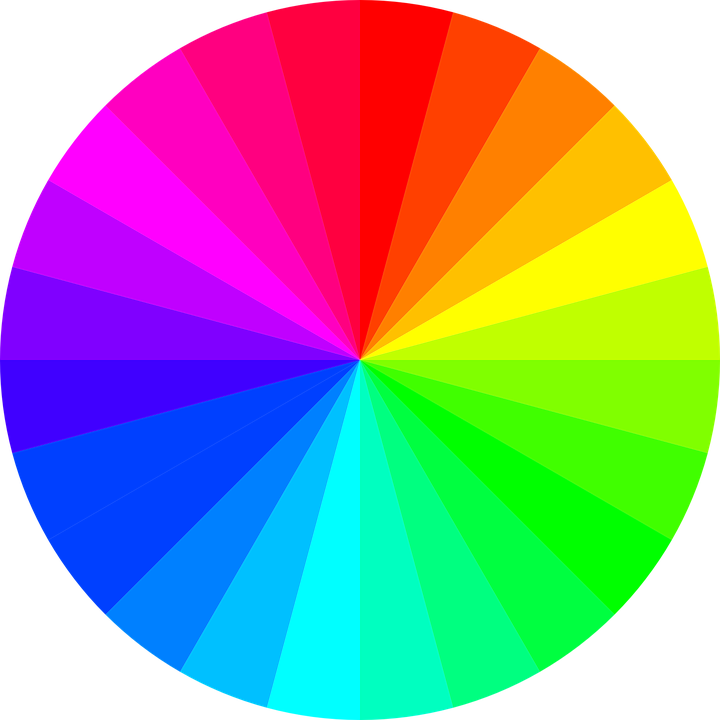 Harmonie barevného schématu